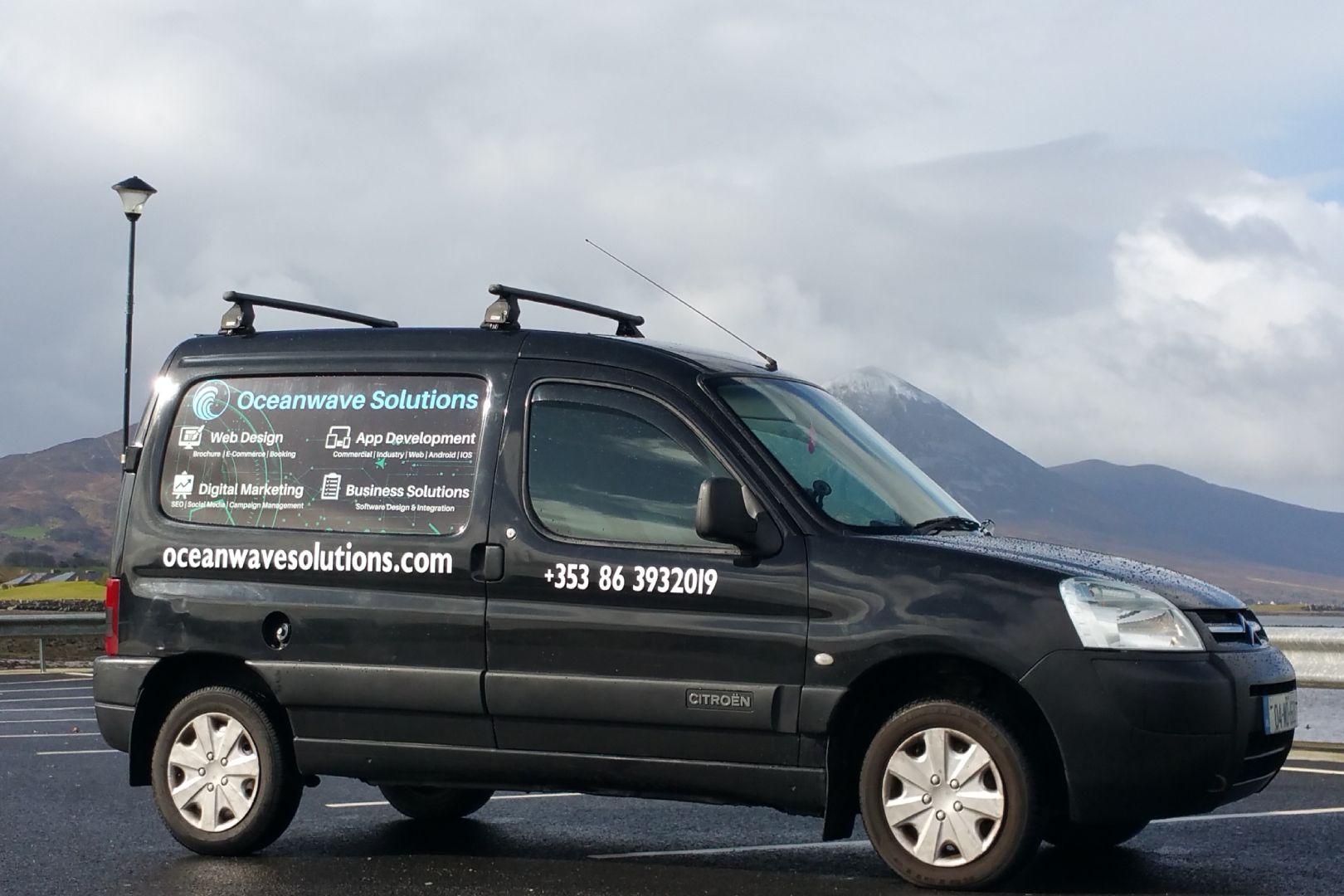 Oceanwave Solutions Van